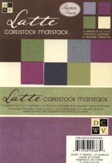 Paper Stacks DCWV Latte