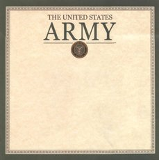 Military Army Scrapbook Paper