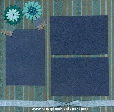 Personal Shopper Scrapbook Layouts Mar 2010