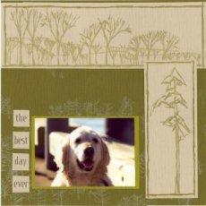 Outdoor Pet Scrapbook Layout
