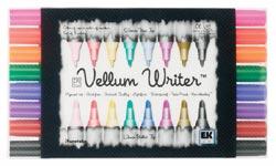 Scrapbooking Pens Zig Writer Vellum Set