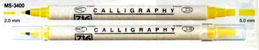 Scrapbooking Pens Zig Twin Chisel Tip Pen