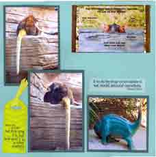Zoo Africa Scrapbook Layout